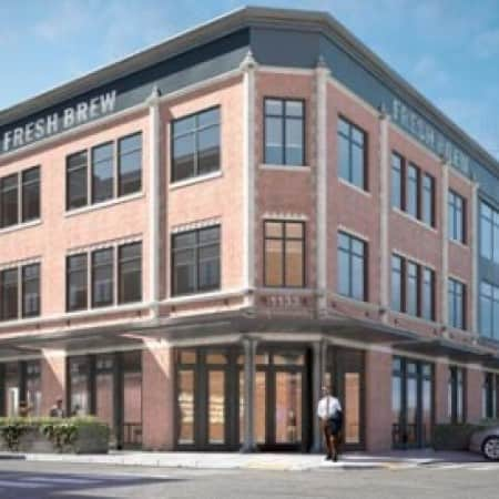3d architectural rendering exterior west loop chicago