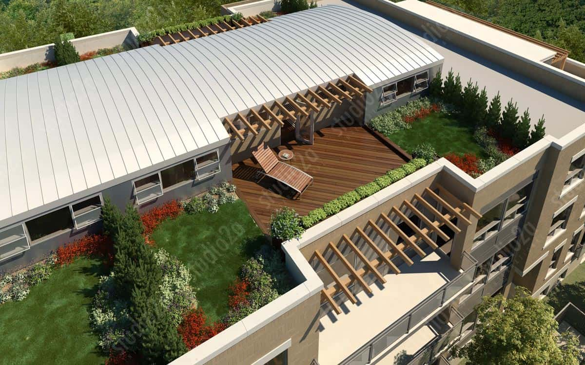 Exterior: Real Estate Marketing 3D Rendering
