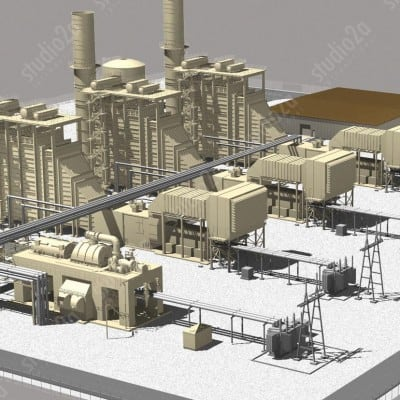 POWER PLANT RENDERINGS