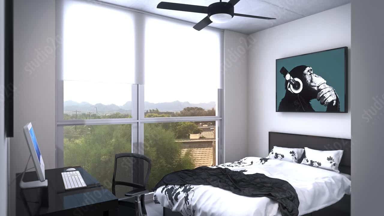 3d architectural animation hub tucson for The hub tucson apartments