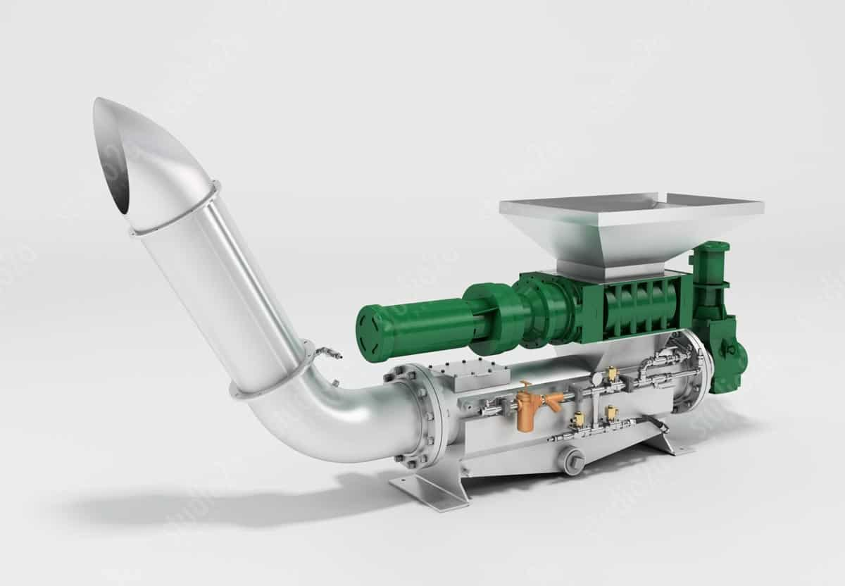 3d product rendering industrial machines