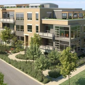 3d exterior rendering Lincoln Park Chicago