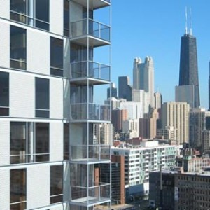 3d rendering high-rise Chicago IL