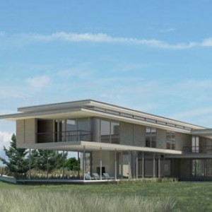 3d rendering beach house hamptons NY