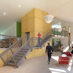 3d rendering interior school storm king ny