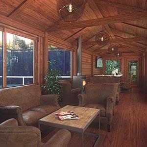 3d Interior Design Rendering By Studio2a Bronxville Field Club