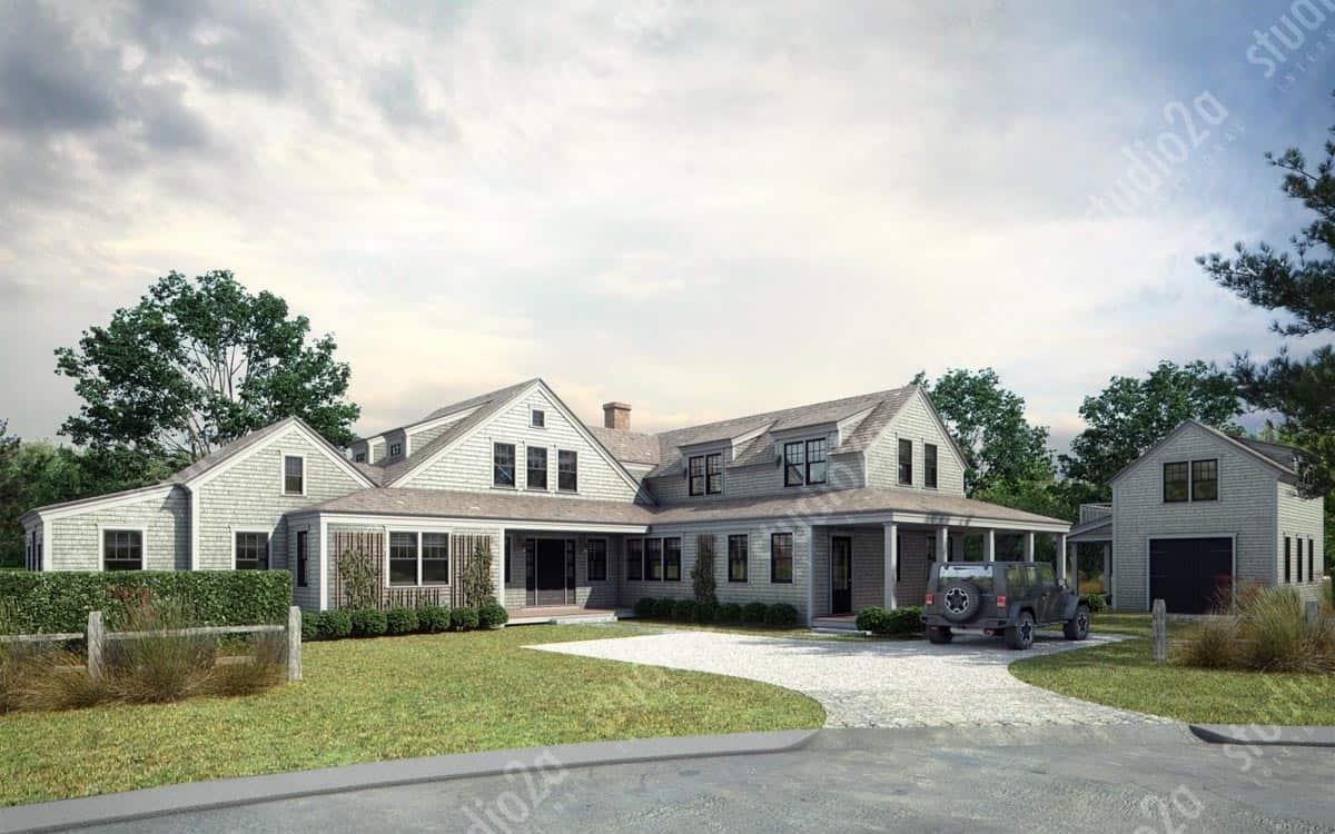 Exterior: Architectural 3D Exterior Rendering