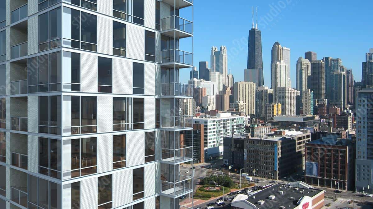 3d Rendering high-rise Condo Chicago
