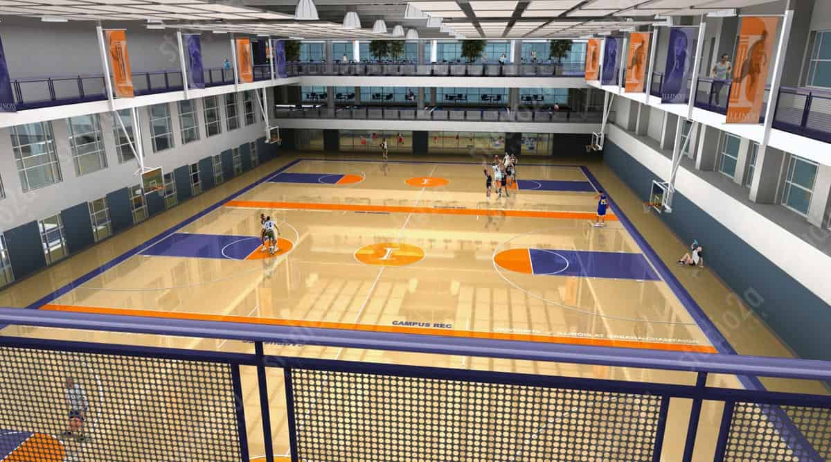 Rec Center Design Renderings U Of Illinois Rec Cetner