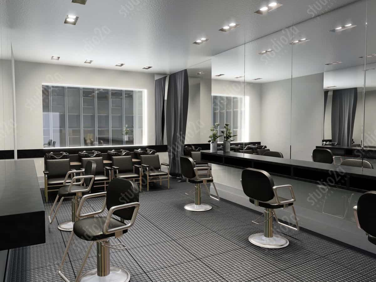 3d Interior Renderings Trump Tower Avon Salon Amp Spa