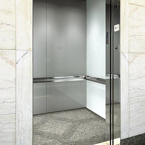 3D Interior Design Rendering for Elevator | ELEVATOR CAB