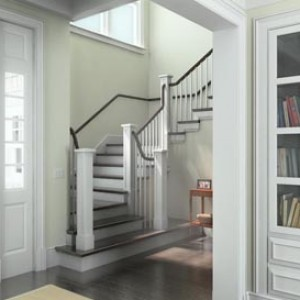 3d rendering interior residence Hamptons NY