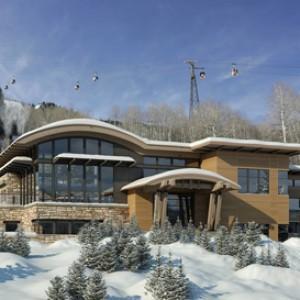 3d rendering Aspen Residence Exterior