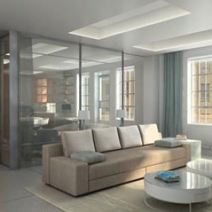 3d interior rendering penthouse NYC